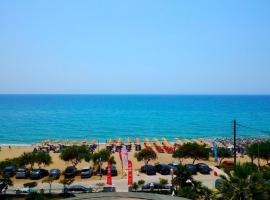 Vrachos Holidays Hotel, hotel blizu znamenitosti Plaža Valtos, Paralija Vrahu