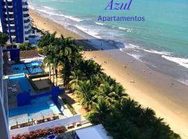 Resort Playa Azul Departamentos frente al mar, apartamento em Tonsupa