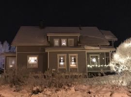 Cozy house close to Arctic Circle, loma-asunto Rovaniemellä