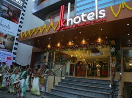 JK HOTELS, отель в городе Коимбатур