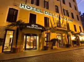 Hotel Delle Nazioni, hotel in Trevi, Rome