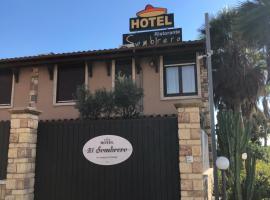 Hotel El Sombrero, отель в городе Ликата