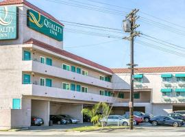 Quality Inn Burbank Airport, hotel near Hollywood Burbank Airport - BUR,