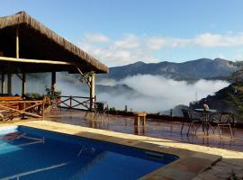 Pousada R.N.C. Nosso Paraíso, spa hotel in Teresópolis