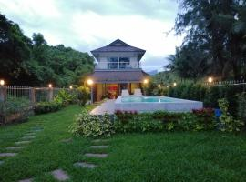 Baan Mook Taley Private Beachfront Villa, hotell sihtkohas Klong Muang Beach