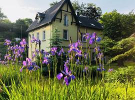 Ferienwohnungen Siebenlehn am Romanus Freibad, apartment in Siebenlehn