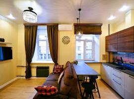 New Apartment on Rubinshteina 14, hotel near Faberge Museum, Saint Petersburg