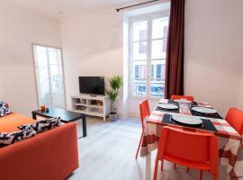 Appartement cœur de ville, wifi, lave + sèche linge, apartment in Pau