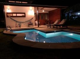 Linda Casa Familiar 02 Quartos com Piscina, hotel near Madeiro Beach, Pipa