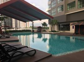 IOI Conezion Iman's Home with Pool View Unit, apartment in Putrajaya