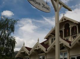 Seljord Hotel, hotell i nærheten av Gaustatoppen i Seljord