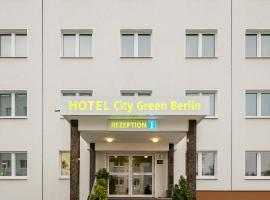 Hotel City Green Berlin, hotel cerca de Aeropuerto de Berlín - Schönefeld - SXF,