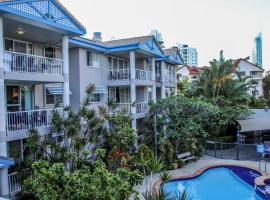 Surfers Beach Holiday Apartments, serviced apartment in Gold Coast