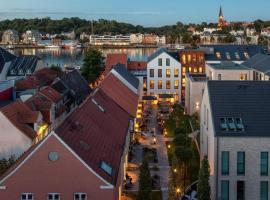 Hotel Hafen Flensburg, hotel Flensburgban
