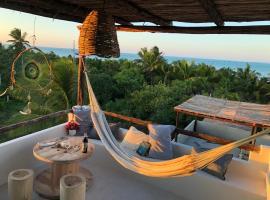 LunArena Boutique Beach Hotel Yucatán Mexico, apartment in El Cuyo