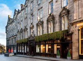 Fraser Suites Edinburgh, hotel in Edinburgh