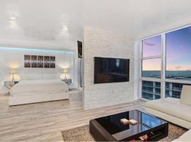 Oceanview at the Carillon, apartamento em Miami Beach