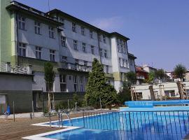 Wellness Hotel Central, ubytování v destinaci Klatovy