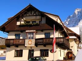 Appartement Valentin, self catering accommodation in Ehrwald