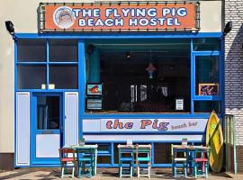 The Flying Pig Beach, budget hotel in Noordwijk aan Zee
