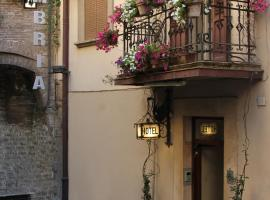 Hotel Umbria, hotel a Perugia