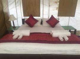 Paramount Camp, luxury tent in Leh
