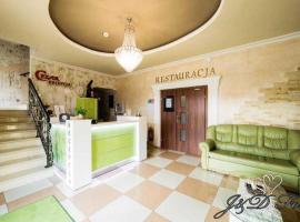 Centrum Cezar – hotel w mieście Zawiercie