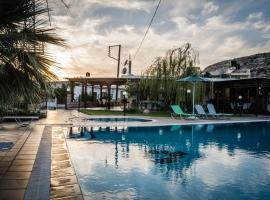 Dimitris Villa Hotel, family hotel in Matala