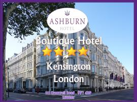 Ashburn Hotel, hotel near South Kensington Underground Station, London