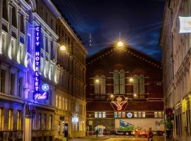 City Hotel Nebo, hotel near Nørreport S-Train Station, Copenhagen