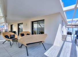 Penthouse centre Cannes, hotel with jacuzzis in Cannes