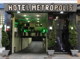 HOTEL METROPOLIS, hotel em São Paulo