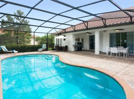 Family Dream Single Vacation Home with private pool ST4051, villa in Davenport