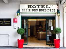 Hôtel Croix des Nordistes, hotel in Lourdes
