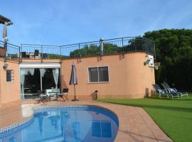 BlueLine 25km BCN-Piscina, sauna y vistas al mar, hotel in Mataró