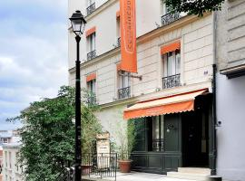 Caulaincourt Montmartre by Hiphophostels, hostelli Pariisissa