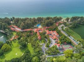 Dusit Thani Laguna Phuket, golf hotel in Bang Tao Beach