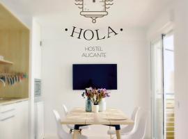 Hola Hostel Alicante, hostelli Alicantessa