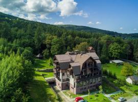 Hotel Sudetia – hotel w pobliżu miejsca Zamek Czocha w Świeradowie Zdroju