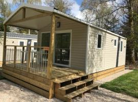 Camping Porte des Vosges, self catering accommodation in Bulgnéville