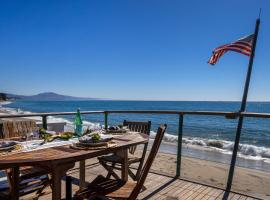 Boat House at Miramar Beach- Upper Unit, vacation rental in Santa Barbara