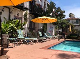 Villa Rosa Inn, hotel in Santa Barbara