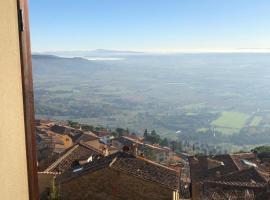 La finestra sulla Toscana, apartment in Cortona