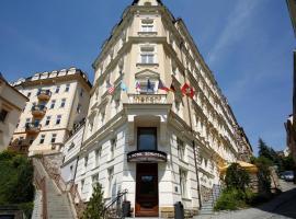 Spa Hotel Schlosspark, hotel in Karlovy Vary