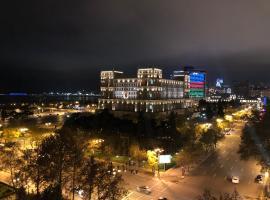 Deluxe Apartment with Sea and F1 view, apartamento em Baku