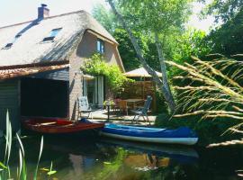 Giethoorn Lodge, hotel in Giethoorn