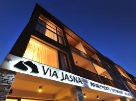 Via Jasna Wellness Apartments, hotel v destinaci Liptovský Mikuláš
