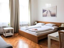 City Castle Aparthotel, serviced apartment in Prague