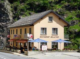 Pension Bellevue Gondo, hotel in Gondo