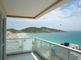 AP ESPETACULAR VISTA MAR PRAINHA EM ARRAIAL DO CABO, hotel with jacuzzis in Arraial do Cabo